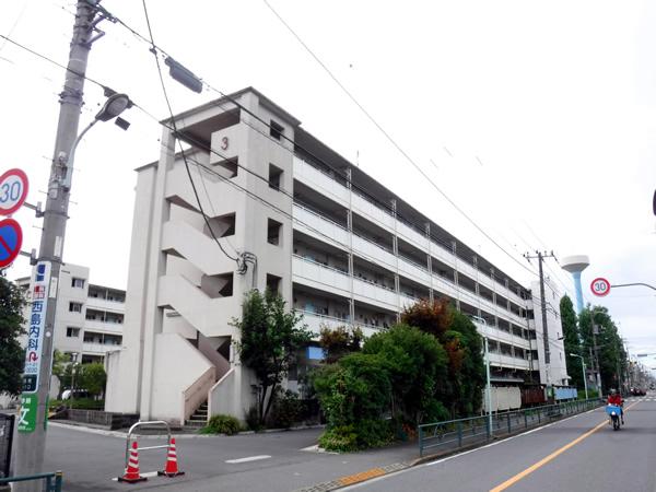 JKK都営喜多見二丁目アパートテレビ共聴設備改修工事